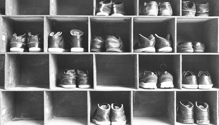 ชั้นวางรองเท้า