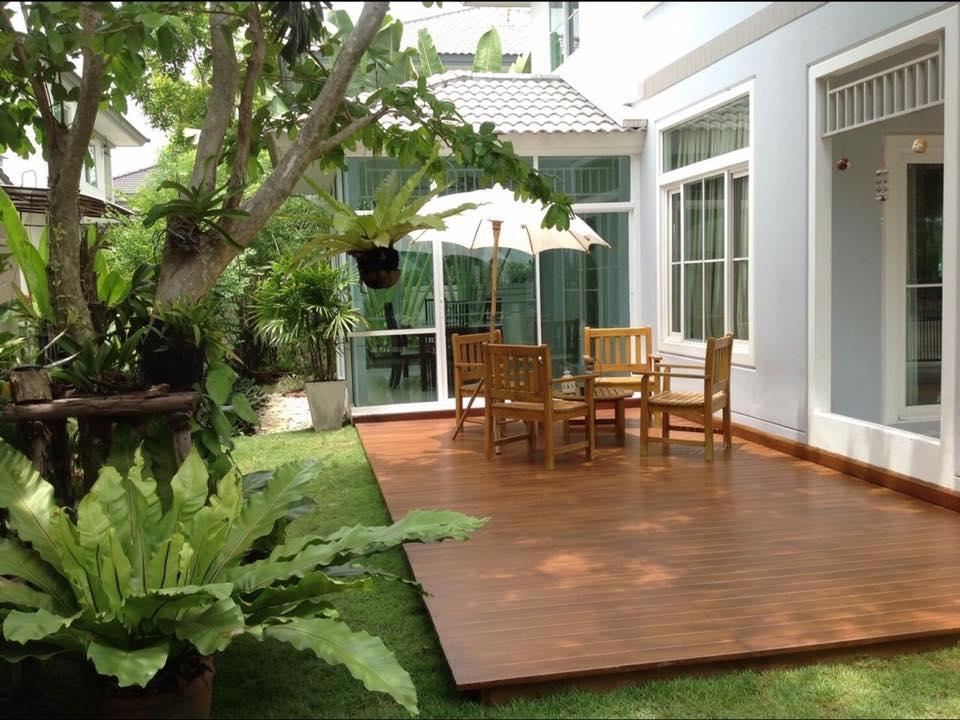 ไอเดียการตกแต่งสวนหน้าบ้านและหลังบ้าน-Gurubaan.com