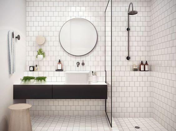 ห้องน้้ำ,แต่งห้องน้ำขนาดเล็ก